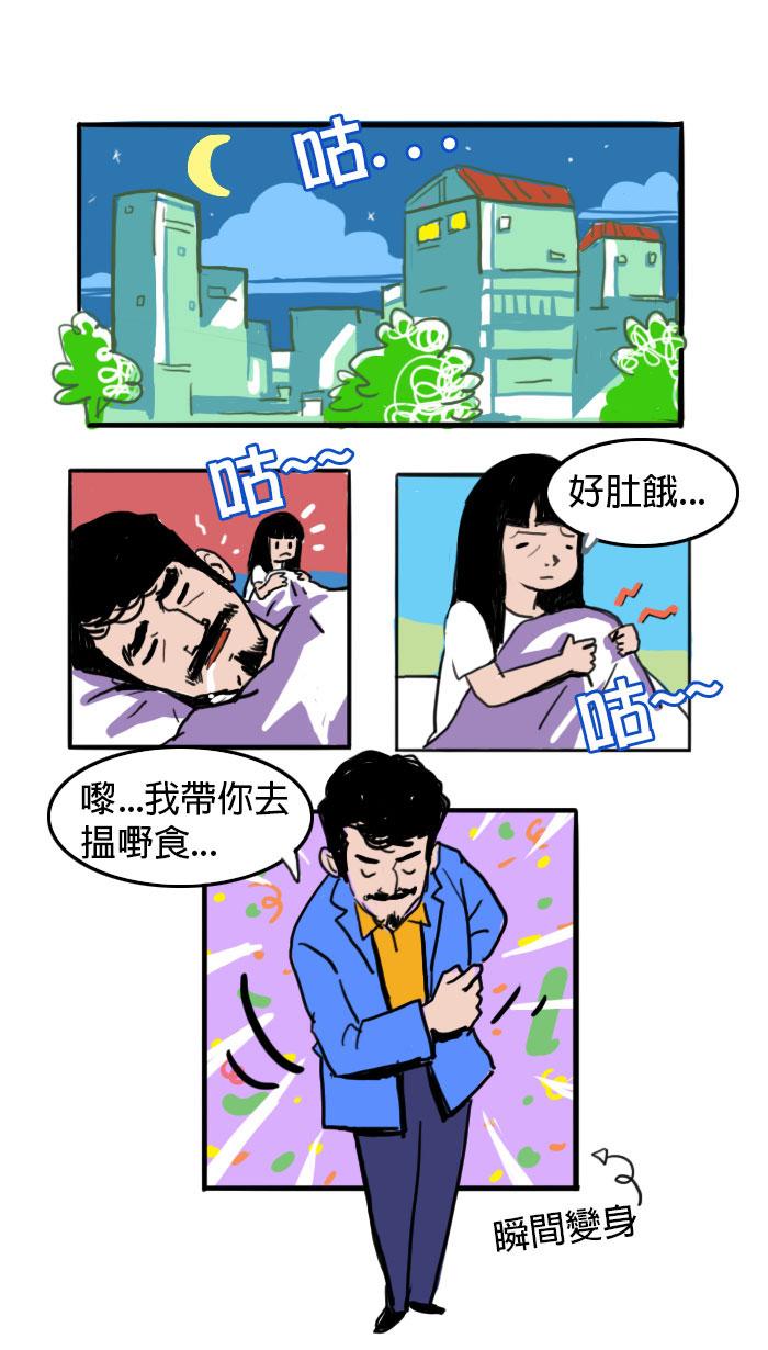 張文太太晚上感到餓