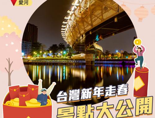 台灣新年走春景點大公開-南部