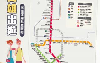 高雄捷運線圖