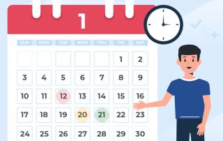 2021國中小學.寒假開學行事曆