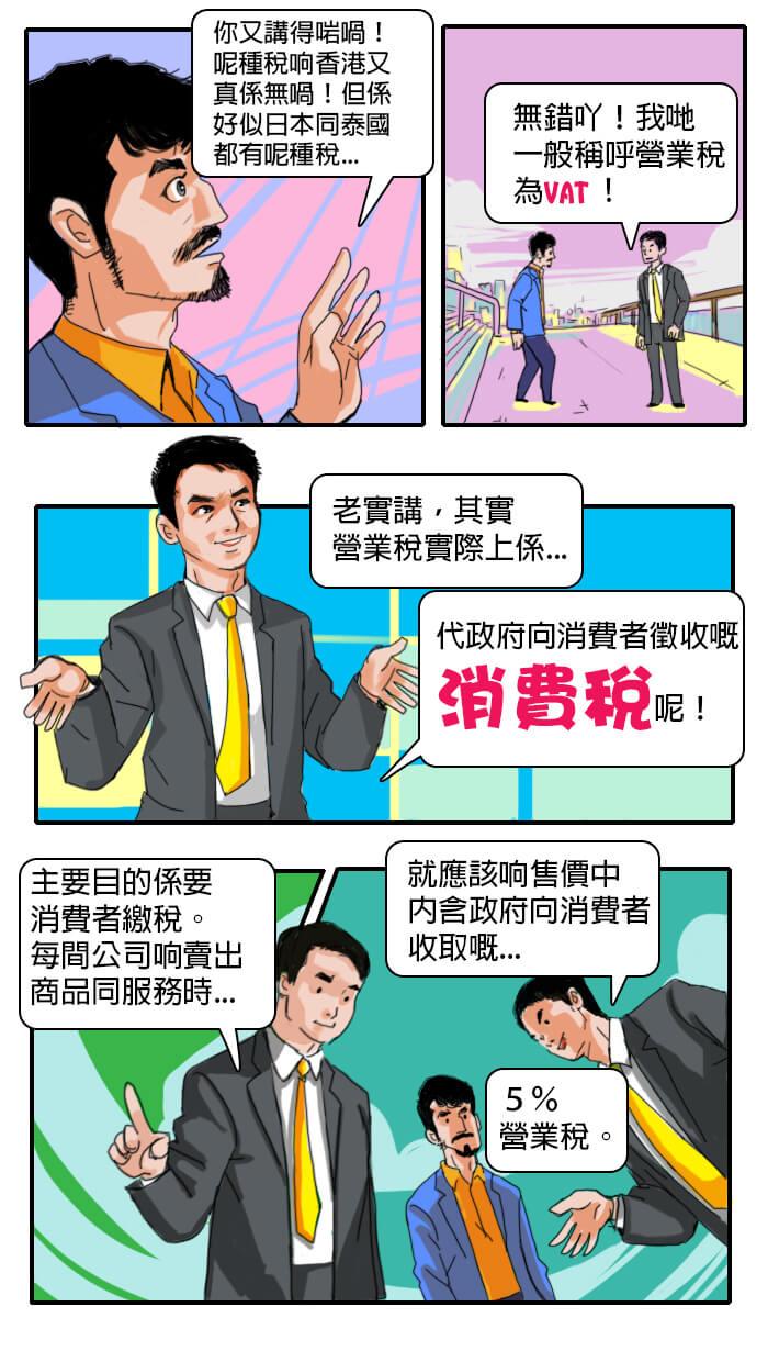 台灣移民記第三話-消費稅