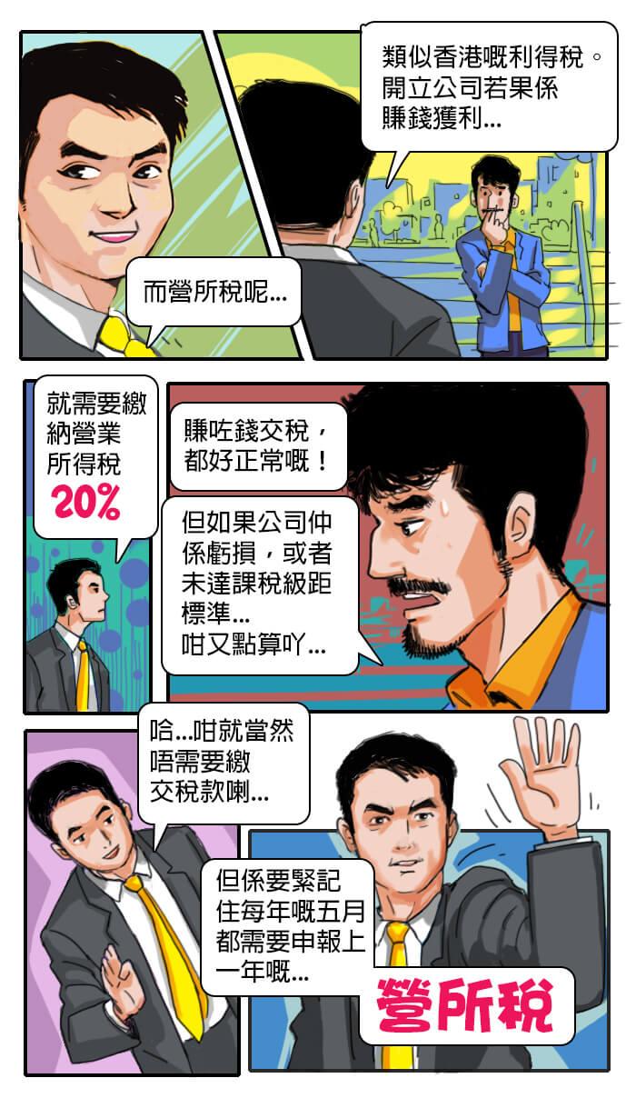 台灣移民記第三話-營所稅