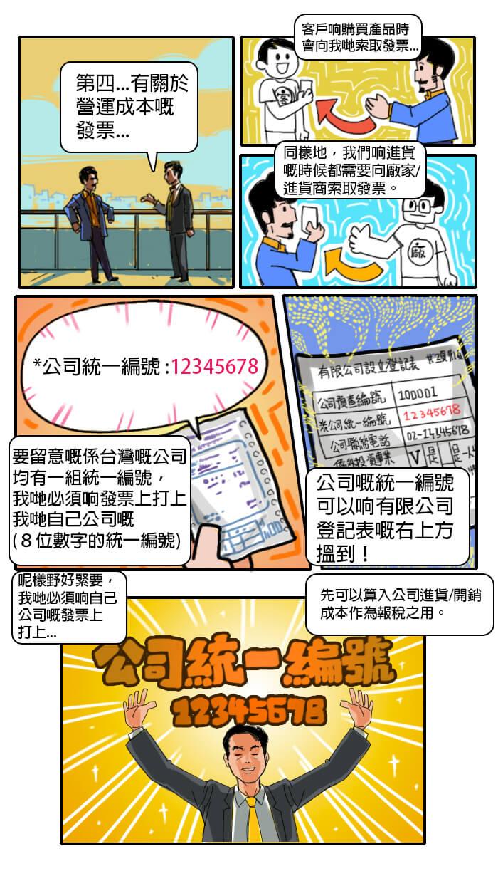 台灣移民記第三話-統一編號