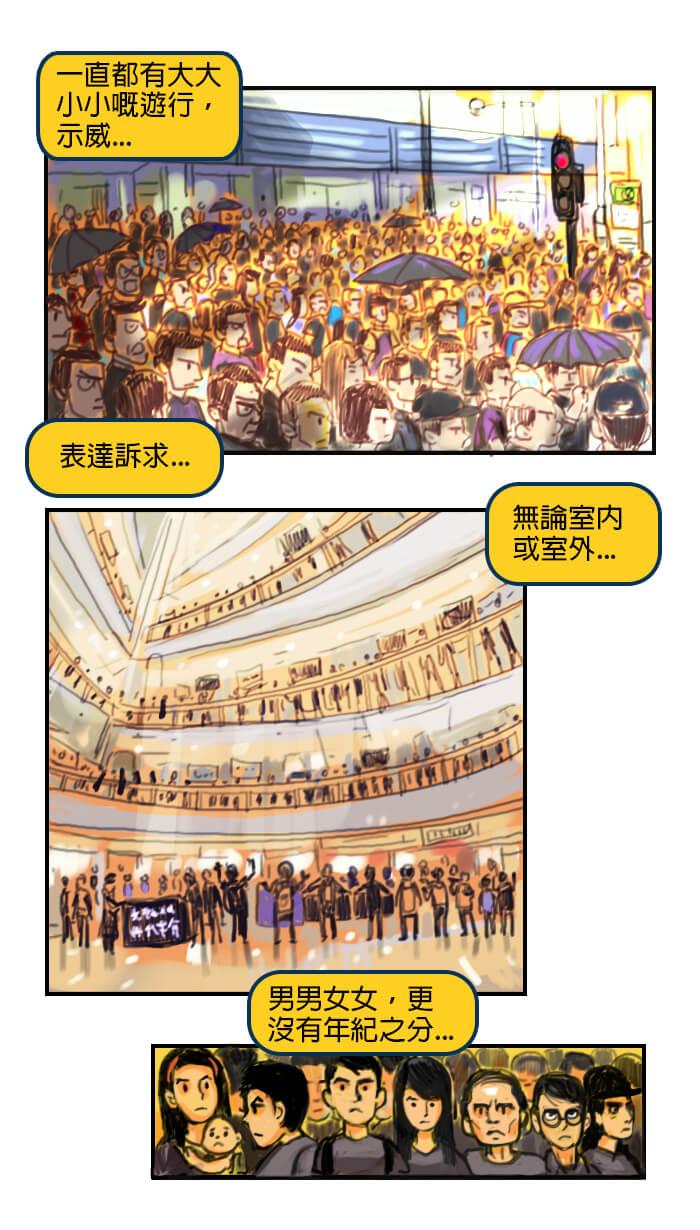 台灣移民記第一話香港現況