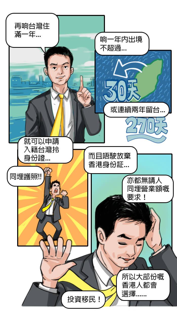 台灣移民記第二話-投資移民規定